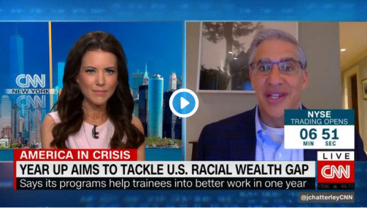 Year Up Aims to Tackle U.S. Racial Wealth Gap